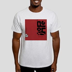 flipflop_hopefellowship_blackonred Light T-Shirt