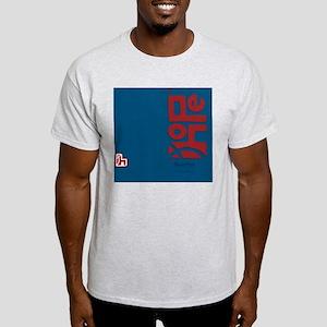 flipflop_hopefellowship_redonblue Light T-Shirt