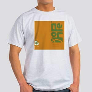flipflop_hopefellowship_greenonyello Light T-Shirt