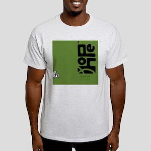 flipflop_hopefellowship_blackongreen Light T-Shirt