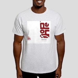 flipflop_hopefellowship_redonwhite Light T-Shirt