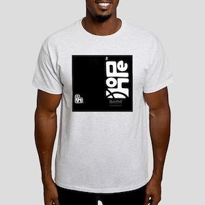 flipflop_hopefellowship_whiteonblack Light T-Shirt