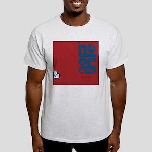 flipflop_hopefellowship_blueonred Light T-Shirt