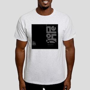 flipflop_hopefellowship_grayonblack Light T-Shirt