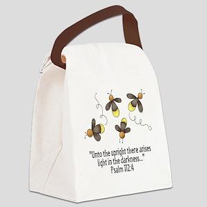 FireflyScrip Canvas Lunch Bag