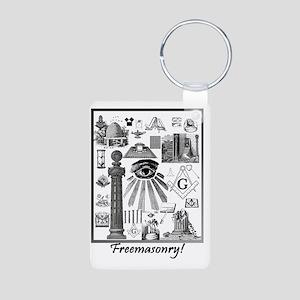 Freemasonry! Aluminum Photo Keychain