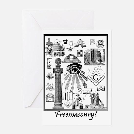 Freemasonry! Greeting Card