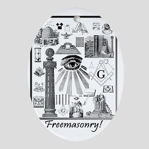 Freemasonry! Oval Ornament