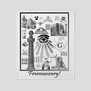 Freemasonry! Throw Blanket