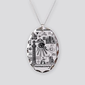 Freemasonry! Necklace Oval Charm