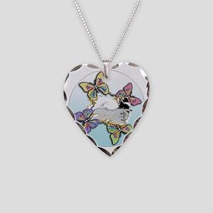 Agility Papillon Necklace Heart Charm