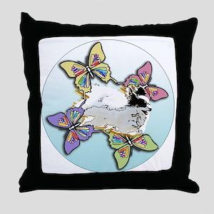 Agility Papillon Throw Pillow