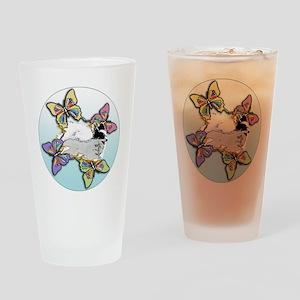 Agility Papillon Drinking Glass