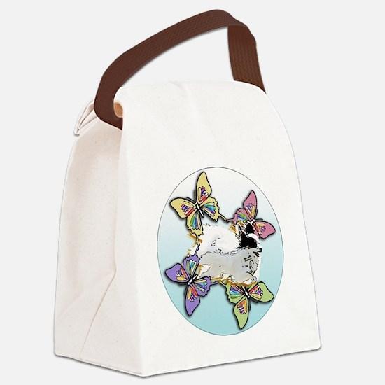Agility Papillon Canvas Lunch Bag