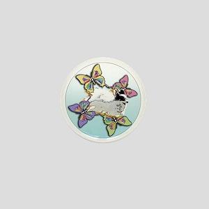 Agility Papillon Mini Button