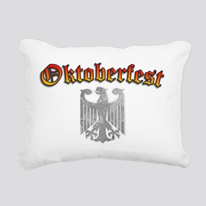 Oktoberfest German Deuts Rectangular Canvas Pillow