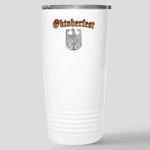 Oktoberfest German Deutsch Eagl Stainless Steel Tr