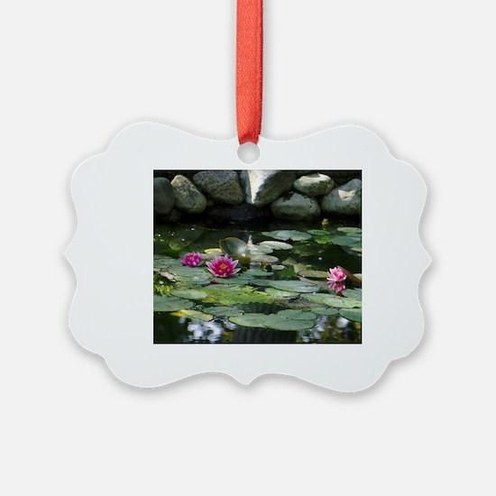 Cute Lilypad Ornament