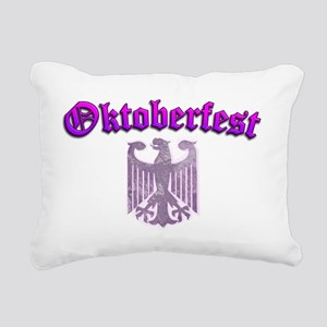Oktoberfest Womens Ladie Rectangular Canvas Pillow