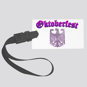 Oktoberfest Womens Ladies German Large Luggage Tag