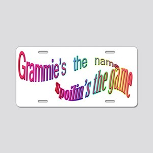 GRAMMIES THE NAME Aluminum License Plate