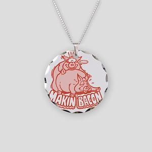 makinbacon2_tran Necklace Circle Charm
