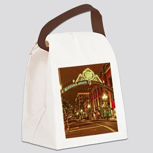 Gaslamp2 Canvas Lunch Bag