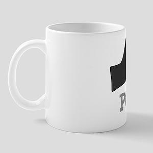 Poodles-2-hand-heart Mug