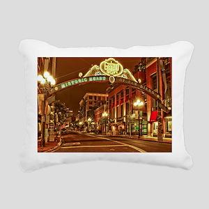 Gaslamp2 Rectangular Canvas Pillow