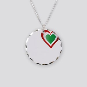 i heart hungarIAN GIRLS2 Necklace Circle Charm