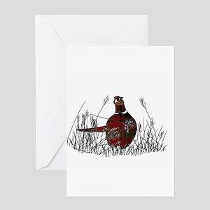 Highland Pheasant Greeting Cards