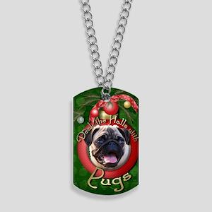 DeckHalls_Pugs Dog Tags