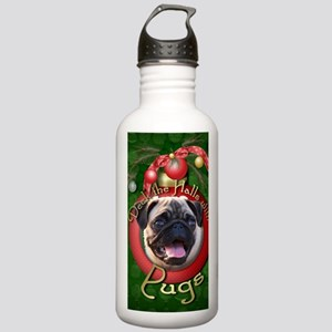 DeckHalls_Pugs Stainless Water Bottle 1.0L