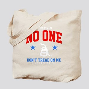 No One Prop Tote Bag