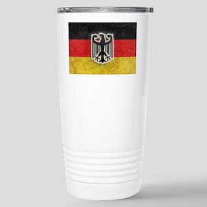 Oktoberfest German Eagle Crest  Stainless Steel Tr