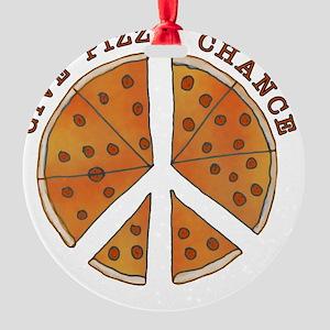 pizzachance_2_button Round Ornament