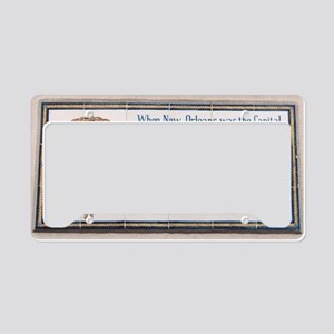 aduana_cropped License Plate Holder