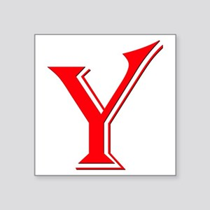 "Y Square Sticker 3"" x 3"""
