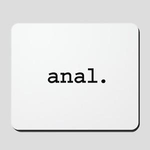 anal. Mousepad