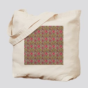 Pink Funky Flowers FF Tote Bag