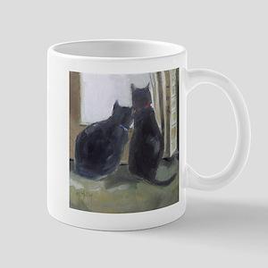 Black Cats Mugs