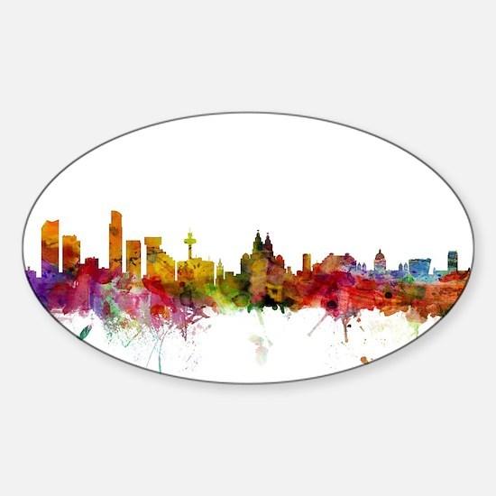 Liverpool England Skyline Decal