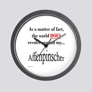 Affenpinscher World Wall Clock