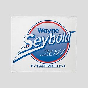 Main 2011 Seybold logo cafpress Throw Blanket
