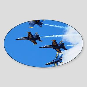 Blue Angels Sticker (Oval)