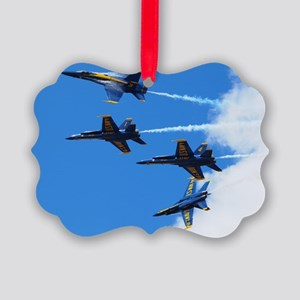 Blue Angels Picture Ornament