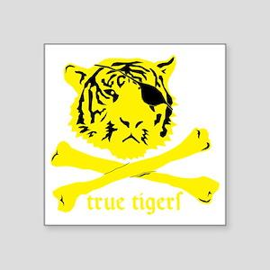 """True Tigers Square Sticker 3"""" x 3"""""""