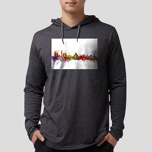 Liverpool England Skyline Long Sleeve T-Shirt