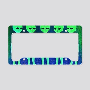 11x17_spaceinvaders License Plate Holder