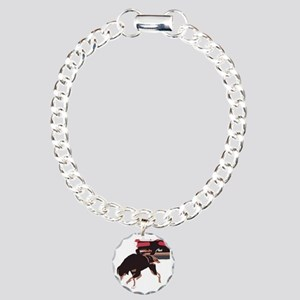 ava weight pull color bl Charm Bracelet, One Charm